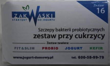 Cukrzyca - Zestaw bakterii probiotycznych  (nr 16)